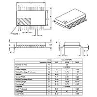PIC16F1933 I/SS Smd 8-Bit 32 MHz Mikrodenetleyici Ssop28