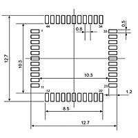 STM8S105S4T6CTR 8 Bit 16MHz Mikrodenetleyici LQFP44