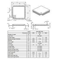 PIC18F4550 I/PT SMD TQFP-44 8-Bit 48MHz Mikrodenetleyici