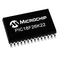 PIC18F26K22-I/SO SMD 8-Bit 64MHz Mikrodenetleyici SOIC-28
