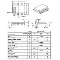 PIC16F1827 I/SO SMD SOIC-18 8-Bit 32 MHz Mikrodenetleyici