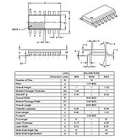 PIC16F1823 I/SL SMD SOIC-14 8-Bit 32 MHz Mikrodenetleyici