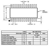 PIC16F1938-I/SO Smd 32MHz 8-Bit Mikrodenetleyici Soic28