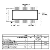 PIC24F16KA102-I/SO SMD 32Mhz 16-Bit Mikrodenetleyici Soic28