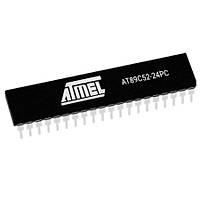 AT89C52-24PC 8-Bit 24MHz Mikrodenetleyici DIP-40