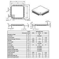 PIC18F66K80-E/PT SMD TQFP64 64MHz 8-Bit Mikrodenetleyici
