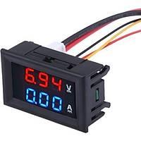 Dijital Voltmetre Dijital Ampermetre  DC 0-100V 10A