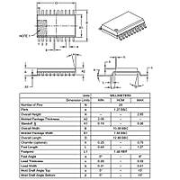 PIC16F1829 I/SO SMD SOIC-20 8-Bit 32 MHz Mikrodenetleyici