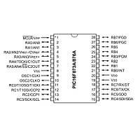 PIC16F873A I/SP SPDIP-28 8-Bit 20 MHz Mikrodenetleyici