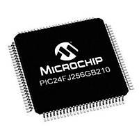 PIC24FJ256GB210 I/PT SMD 16-Bit 32MHz Mikrodenetleyici TQFP-100 - X