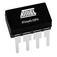 ATtiny45-20PU 8-Bit 20MHz Mikrodenetleyici DIP-8