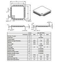 PIC18LF6527 I/PT SMD TQFP-64 8-Bit 40MHz Mikrodenetleyici