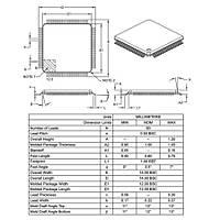 PIC18F87K22-I/PT SMD 8-Bit 64MHz Mikrodenetleyici TQFP-80