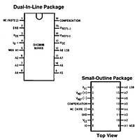 DAC0808 Dijital Analog 莈virici Entegresi Dip-16