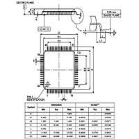 STM32F105RCT6 32Bit 72MHz Mikrodenetleyici LQFP64