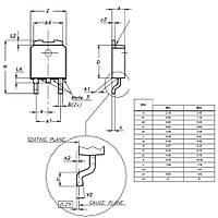 L78M15CDT-TR 15V 0.5A Smd Voltaj Regülatörü To252-3