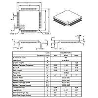 PIC18F6722 I/PT SMD 8-Bit 40MHz Mikrodenetleyici TQFP-64