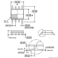 INA128 Smd Enstr黰antasyon Y黭selteci Entegresi Soic-8