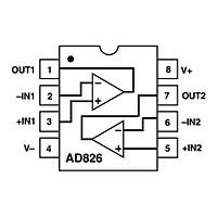 AD826ARZ Smd Op-Amp Entegresi Soic-8