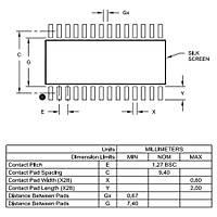 PIC18F26K20 I/SO SMD 8-Bit 64MHz Mikrodenetleyici SOIC-28