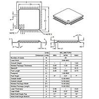 PIC18F4525 I/PT SMD TQFP-44 8-Bit 32MHz Mikrodenetleyici