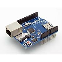 Arduino W5100 Ethernet Shield + SD Kart Okuyuculu