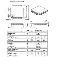 PIC18F66K22-I/PTRSL 8-Bit 64MHz SMD Mikrodenetleyici TQFP64