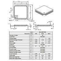 PIC18F4431 E/PT SMD 8-Bit 40MHz Mikrodenetleyici TQFP-44