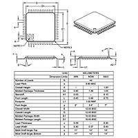 PIC18F45K50-I/PT SMD 8-Bit 48MHz Mikrodenetleyici TQFP-44