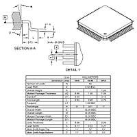 DSPIC33FJ64GS606-I/PT SMD 40MIPs 16-Bit Mikrodenetleyici TQFP64