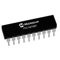 PIC16F687 I/P PDIP-20 8-Bit 20 MHz Mikrodenetleyici
