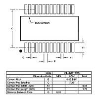 PIC18F24K22-I/SS 8Bit 64MHz Mikrodenetleyici SSOP28