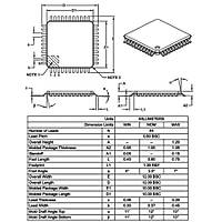 PIC16F1937 I/PT Smd 8-Bit 32 MHz Mikrodenetleyici Tqfp44