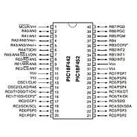PIC18F452 I/P 8-Bit 40MHz Mikrodenetleyici Dip-40
