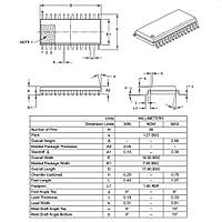 PIC18F2525 I/SO SMD SOIC-28 8-Bit 40MHz Mikrodenetleyici