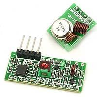 433 Mhz RF Kablosuz Alýcý Verici - Transmitter Receiver Arduino