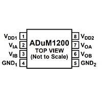 ADUM1200ARZ 2 Kanal Ýzolatör Entegresi Soic8
