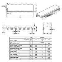 PIC18F4525-I/P 8-Bit 40MHz DIP40 Mikrodenetleyici