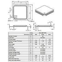 PIC18F4685 I/PT SMD TQFP-44 8-Bit 40MHz Mikrodenetleyici