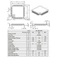 PIC18F6520 I/PT SMD TQFP-64 8-Bit 40MHz Mikrodenetleyici