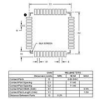 PIC18F45K22 I/PT SMD 8-Bit 64MHz Mikrodenetleyici TQFP-44
