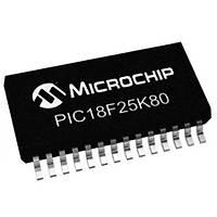 PIC18F25K80T-I/SS 8-Bit 64MHz SSOP28 Mikrodenetleyici