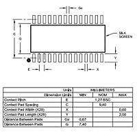 PIC18F24K22T-I/SO SMD SOIC28 24Mhz 8-Bit Mikrodenetleyici