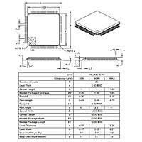 DSPIC30F6010A-30I/PF SMD 16-Bit 30Mýps Mikrodenetleyici TQFP80