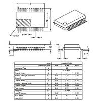 PIC24FJ64GB002T I/SS SMD 16-Bit 32MHz Mikrodenetleyici SSOP-28