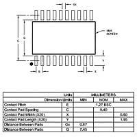 PIC18F14K50-I/SO SMD 8-Bit 48MHz Mikrodenetleyici SOIC-20
