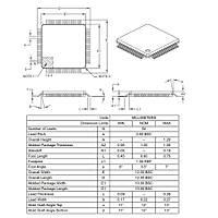 PIC18F66K22 I/PT 8-Bit 64MHz Mikrodenetleyici TQFP64