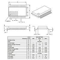 PIC18F25K22-I/SS SMD SSOP28 64MHz 8-Bit Mikrodenetleyici