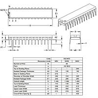 PIC18F2550 I/SP DIP-28 8-Bit 48 MHz Mikrodenetleyici