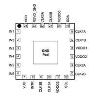 SI5338B Smd Zamanlayýcý - Osilatör - Pulse Jeneratör Entegresi Qfn-24